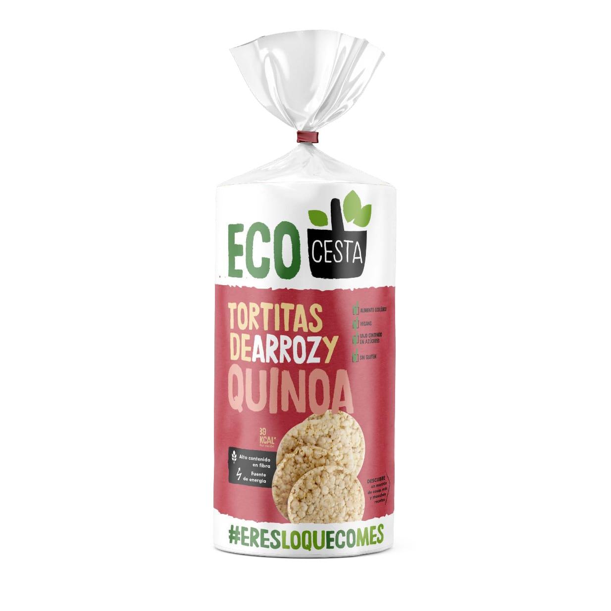 Ecocesta - Tortitas de arroz y quinoa